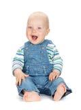 Bebê bonito pequeno fotos de stock royalty free