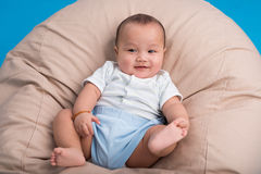 Bebê brincalhão Imagens de Stock