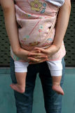 Bebê carreg Foto de Stock