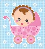Bebê carregado Fotos de Stock