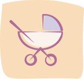 Bebê-carro Imagem de Stock Royalty Free