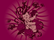 Bebê chinês Imagem de Stock Royalty Free