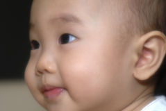 Bebê chinês feliz Fotos de Stock Royalty Free