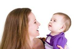 Bebê chocado Fotografia de Stock