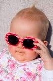 Bebê com óculos de sol Foto de Stock Royalty Free