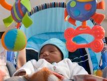 Bebê com brinquedos Imagens de Stock