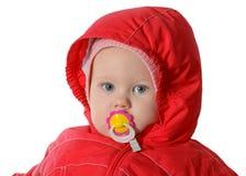 Bebê com manequim Imagem de Stock