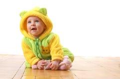 Bebê com orelhas Imagens de Stock