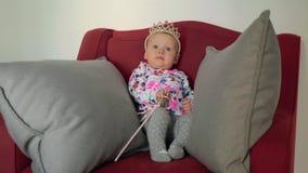 Bebê como a princesa pequena