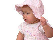 Bebê cor-de-rosa - boneca Fotos de Stock Royalty Free