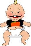 Bebê da abóbora ilustração do vetor