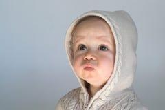 Bebê da camisola fotografia de stock royalty free