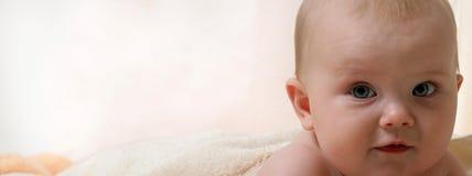 Bebê da criança pequena Imagens de Stock