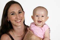 Bebê da mamã Imagem de Stock Royalty Free