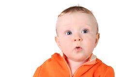 Bebê da surpresa Foto de Stock