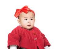 Bebê de Ásia fotografia de stock
