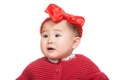 Bebê de Ásia isolado imagem de stock royalty free