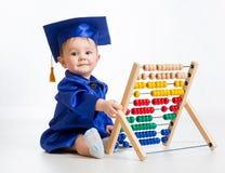 Bebê de aprendizagem adiantado Foto de Stock Royalty Free