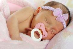 Bebê de Binky Imagens de Stock