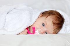 Bebê de descanso Fotografia de Stock Royalty Free