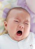 Bebê de grito Imagem de Stock