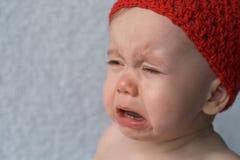 Bebê de grito Imagem de Stock Royalty Free