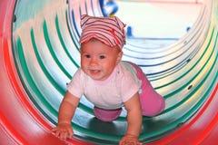 Bebê de jogo feliz Imagem de Stock
