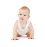 Bebê de rastejamento Fotos de Stock