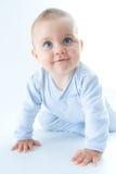 Bebê de rastejamento foto de stock