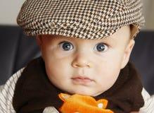 Bebê de riso imagens de stock