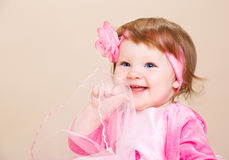 Bebê de riso Fotos de Stock Royalty Free