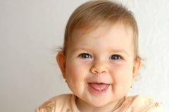 Bebê de riso Foto de Stock