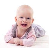 Bebê de riso Imagem de Stock Royalty Free