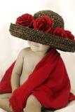 Bebê de Rosa Fotografia de Stock Royalty Free