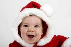Bebê de Santa fotografia de stock royalty free