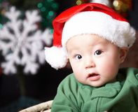 Bebê de Santa imagem de stock royalty free