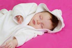 Bebê de sono Fotos de Stock