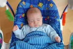 Bebê de sono Fotografia de Stock Royalty Free