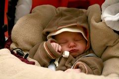 Bebê de sono imagem de stock royalty free