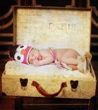 Bebê de sono Imagem de Stock