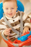 Bebê de sorriso Foto de Stock