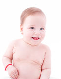 Bebê de sorriso Fotografia de Stock