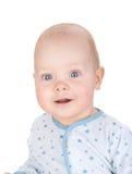 Bebê de sorriso bonito foto de stock