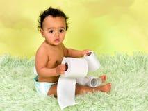 Bebê de um ano inocente Fotos de Stock