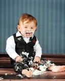 Bebê do aniversário fotografia de stock royalty free