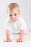 Bebê do anjo Fotos de Stock Royalty Free