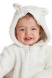 Bebê do bebê de um ano Imagens de Stock Royalty Free