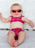 Bebê do biquini Fotografia de Stock Royalty Free