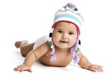 Bebê do chapéu Fotografia de Stock