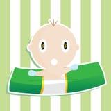 Bebê do dinheiro Fotografia de Stock